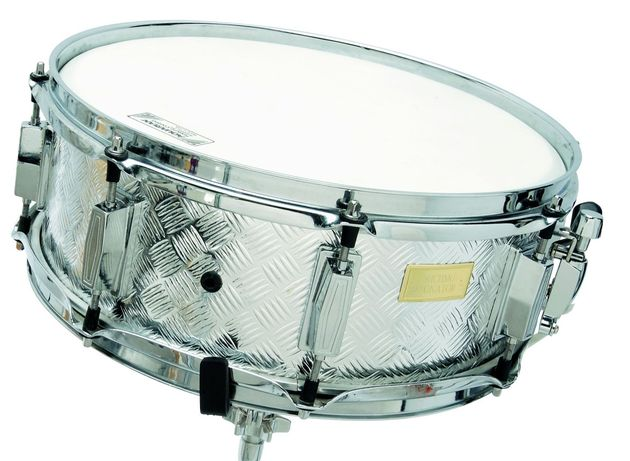 The snare performs like a drum costing thrice the price.