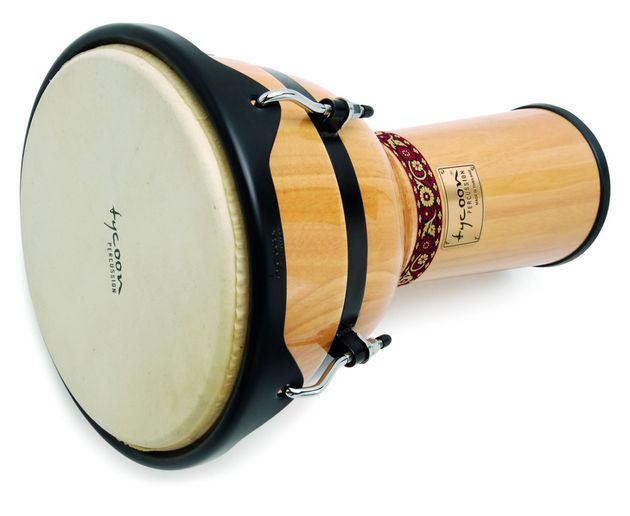 "The 12"" djembe demonstrated some fine tones."