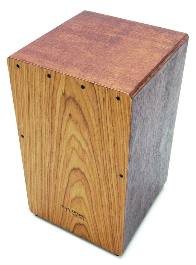 The box cajon offered reasonable bass tones.