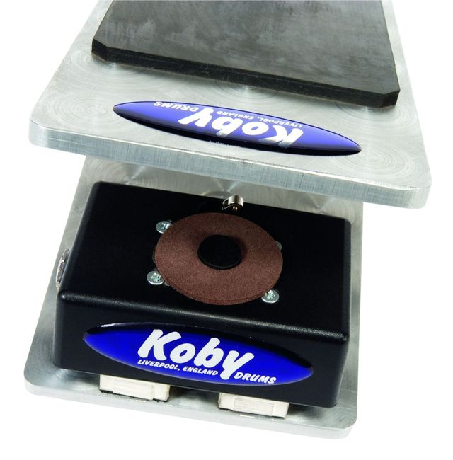 Koby puts heavy duty construction at the fore of its priorities – the trigger pedals are hefty units