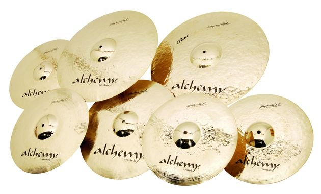 Alchemy Professional cymbals are entirely handmade in Istanbul's famous Turkish foundry