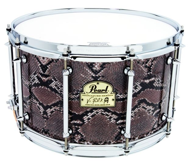"The 8"" deep drum here is the biggest in the Pearl snare line-up."