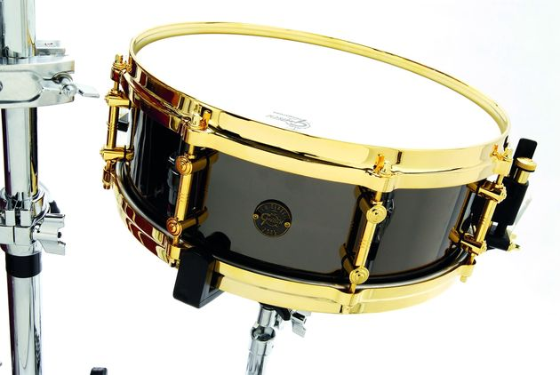 Gretsch offers both wood and metal snares.