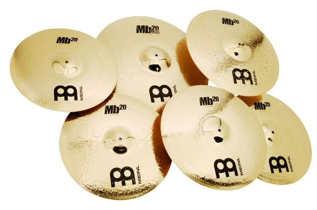 The extensive hand-hammering of the Mb20s lends the cymbals a seriously sophisticated aesthetic edge
