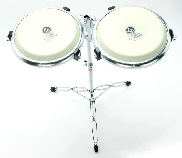 The Compact Congas are mutable for quieter practice.