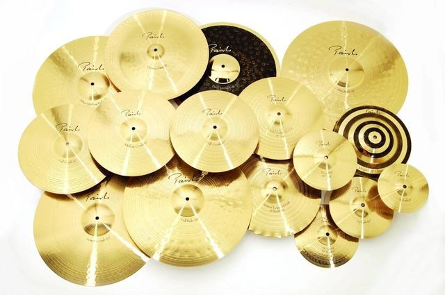 Each cymbal is a fine instrument of distinction.