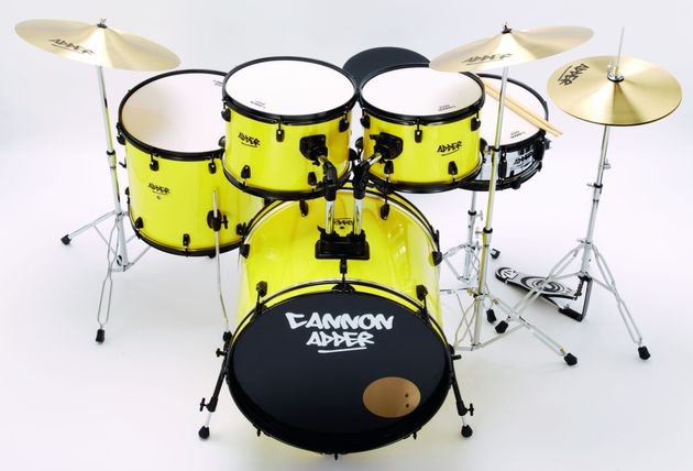 The bass drum will need a bit of dampening, but sounds pretty good when the price of the kit is taken into consideration