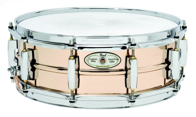 The phosphor bronze snare is perfect for vintage breakbeat grooves or jazz.