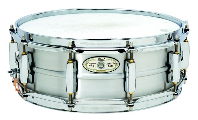 The aluminium snare is extremely articulate.