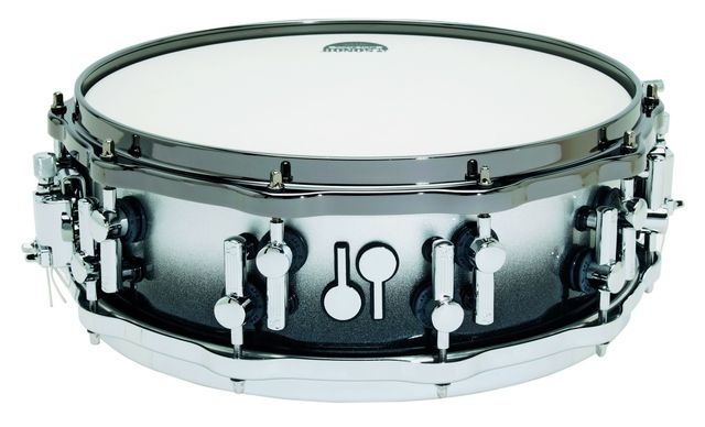 The Sonor twin beater logo badge replaces the square label of the previous top Designer Series