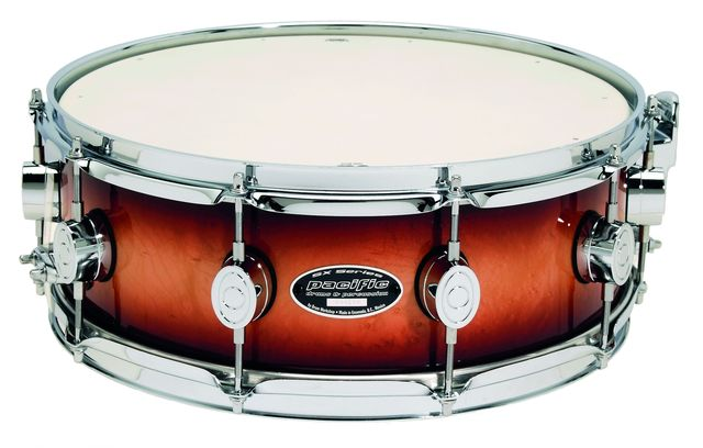 The drums are available with regular, 10-ply maple or all-maple solid shells