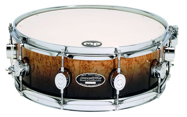 A range of sumptuous finishes means the SXE snares could be mistaken for far more expensive drums