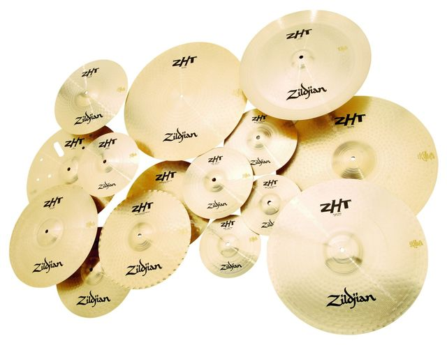 ZHT: Serious looking, medium priced cymbals.