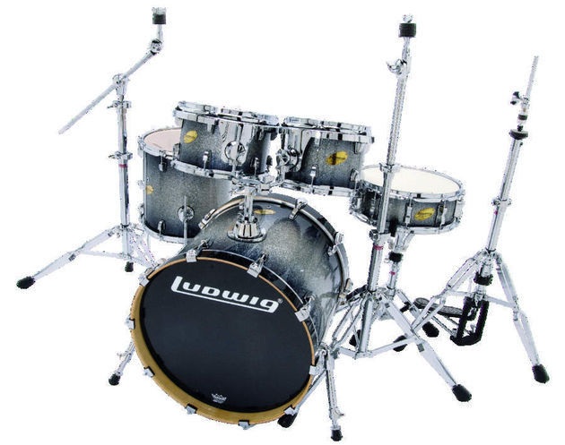 Comes with Ludwig custom hardware.