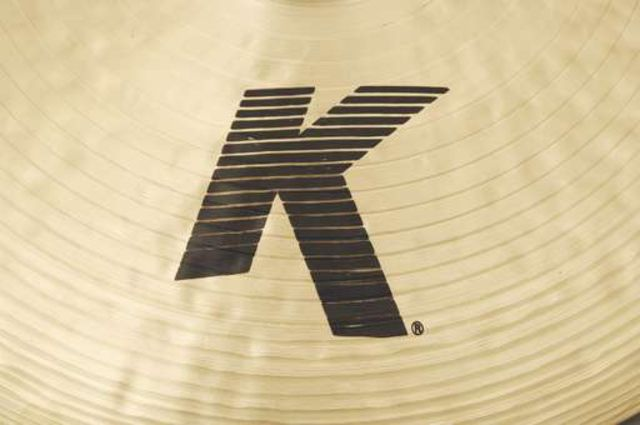 Cymbals bearing the fabled K marque.
