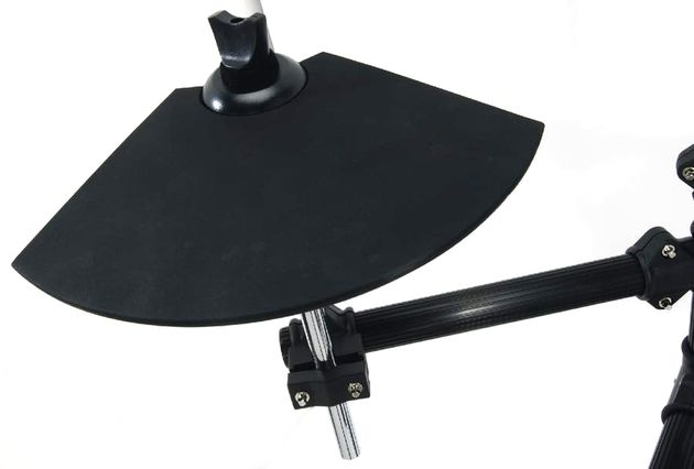 The updated cymbal pads are simple, bell-shaped units and are perfectly playable