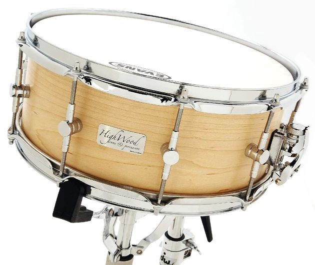Highwood's first ever single ply snare drum.