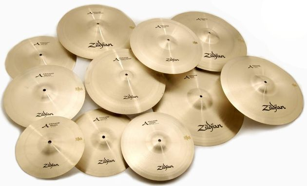 Each cymbal is designed to sound different.