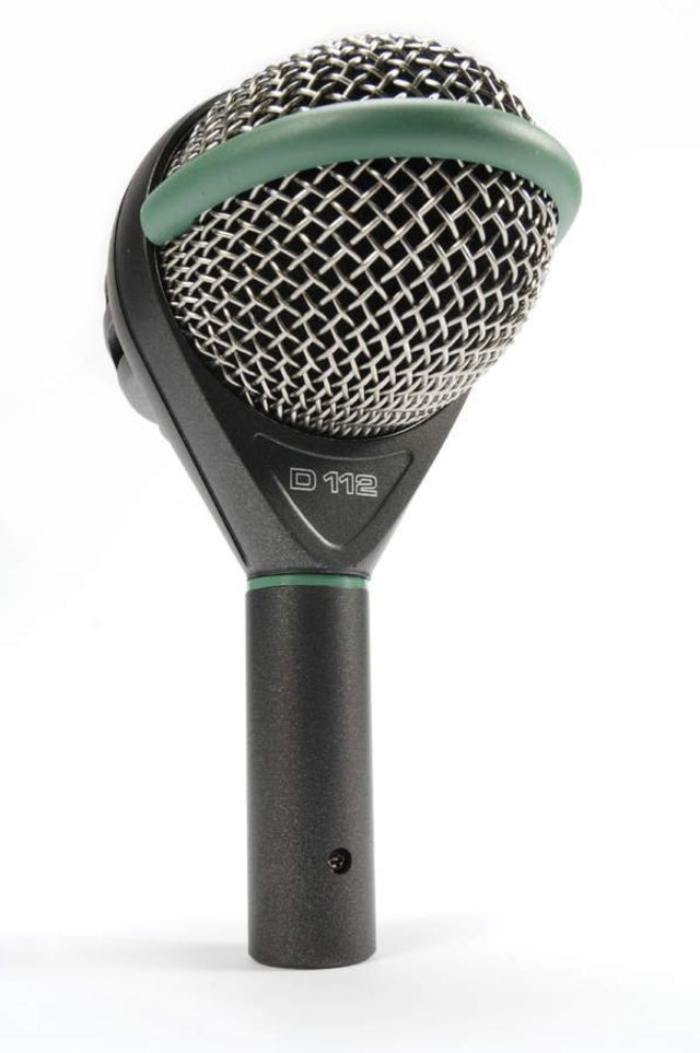 The D112 can mic not only bass drums, but all manner of low register instruments
