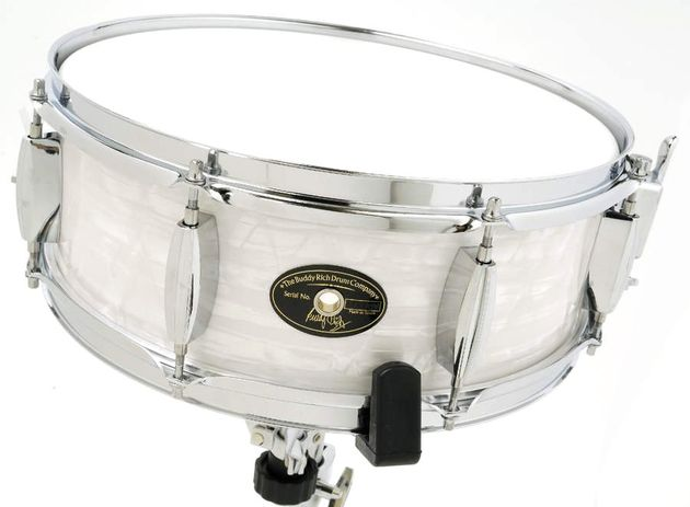 The snare response is crisp, although only with the batter tuned high