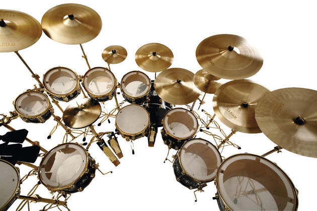 Each set of Sabian Paragon cymbals is handpicked by the head of the Vault team.