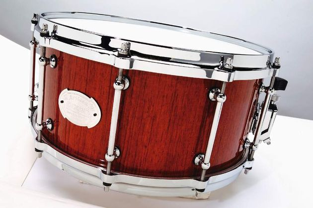 The bubinga's die-cast hoops and classic tube lugs add to the 'pro' look