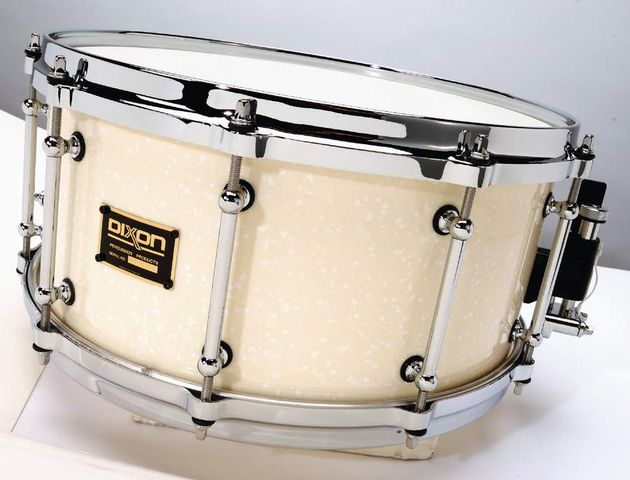 The ceramic marble snare is clean, responsive and looks awesome!