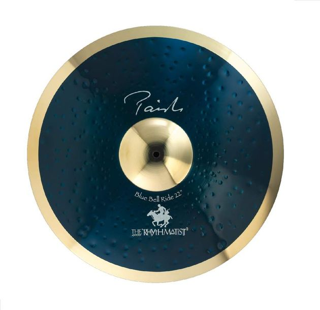 The springboard for the Blue Bell ride design was Paiste's Signature Dark Metal ride