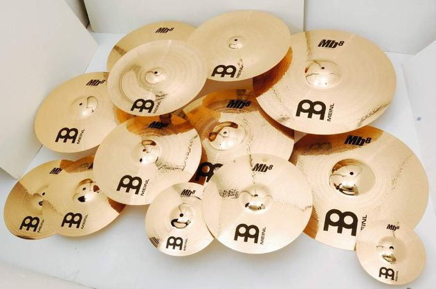 A two-step polish process gives the cymbals the blinding shine Meinl is famous for