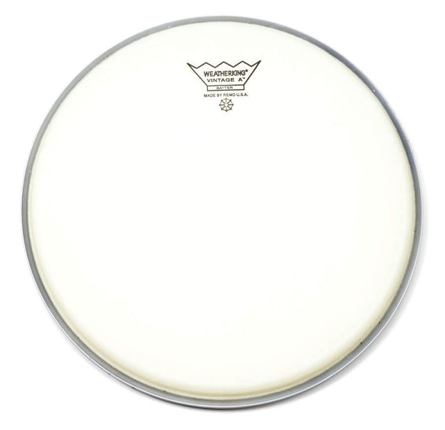 "Vintage A heads are suitable for snare and tom use and are available in 10"", 12"", 13"", 14"" and 16"" sizes only."