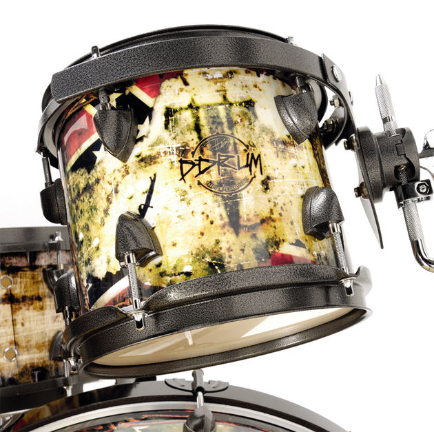 Rebel Rust is the name by which Smith christened the wrap, designed by him and ddrum's graphic artists