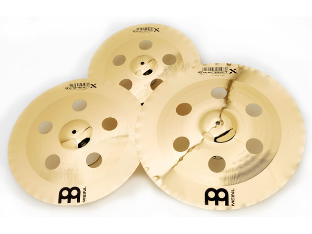 The holes interrupt the energy flow across the cymbal, spiking any tonal niceties being harboured in the grooves