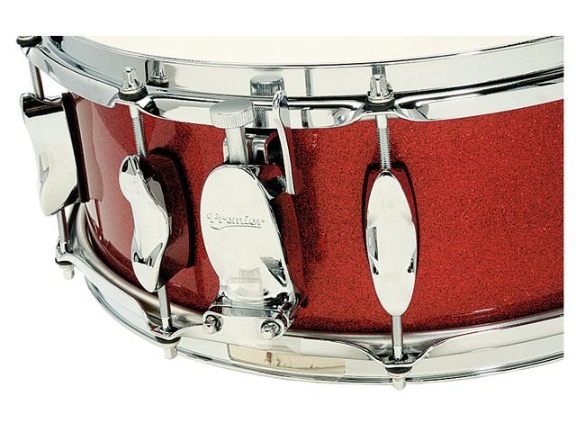 The optional snare has both new double-ended lugs and a new side level throw off