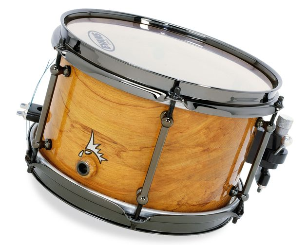 "Far from a token accent snare, the 10"" rimu model is a fully-fledged, responsive drum"