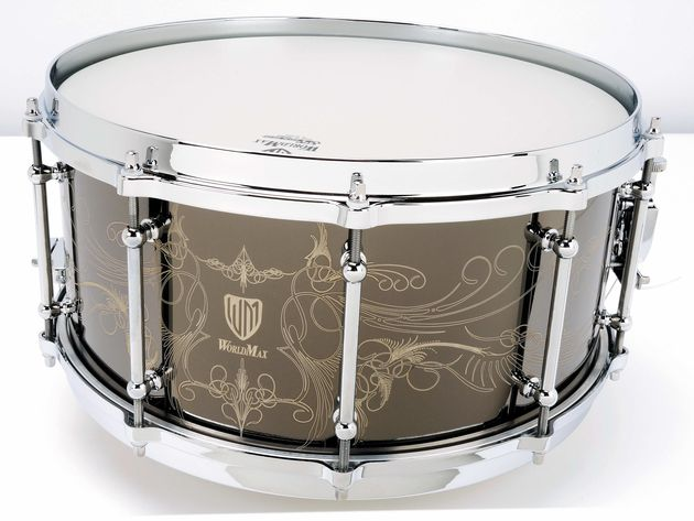 Generally, an aluminium shell will produce a drier, more controlled-sounding drum