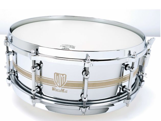The 3mm steel snare is a hefty beast, lift from the knees!