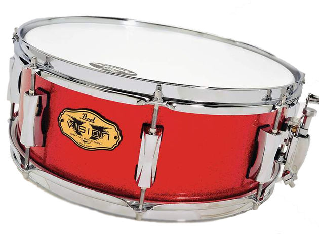 Unusually for a maple snare drum, the VMX snares don't have extra plies to increase the