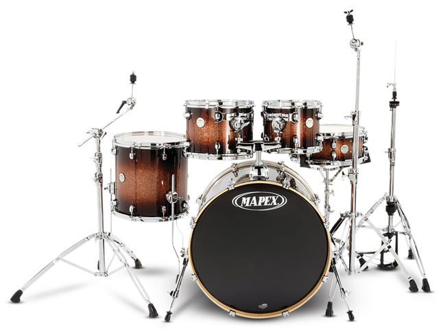 Mapex is keen to stress the new range kit is more than a re-badging exercise