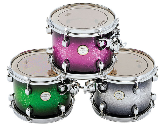 The kit comes in a range of six finishes including Electric Berry Burst, Galaxy Burst, Exotic Transparent Cherry, Green Apple Burst and Exotic Midnight Black