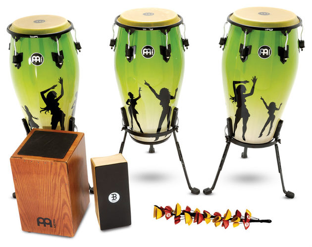 Meinl opts for  a 'Tales Of The Unexpected'-inspired dancing girls design