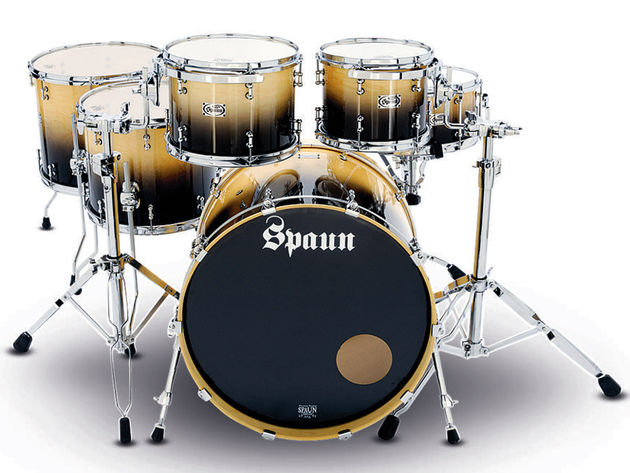 Spaun Custom drum kit
