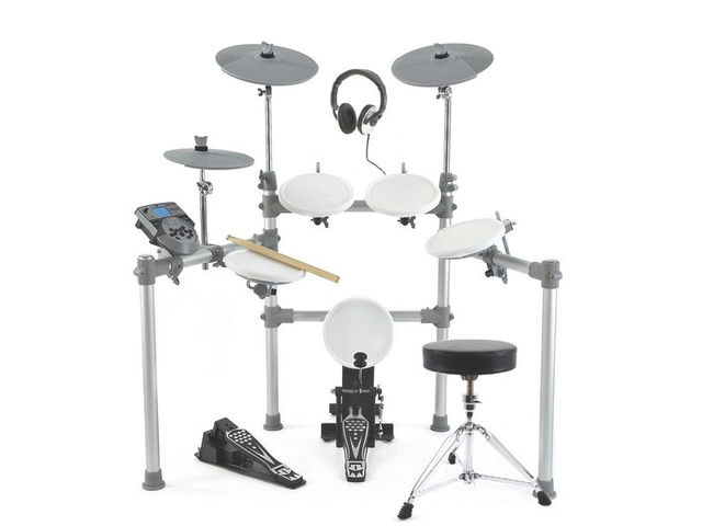 Package deals are available that include a stool, monitor and headphones.