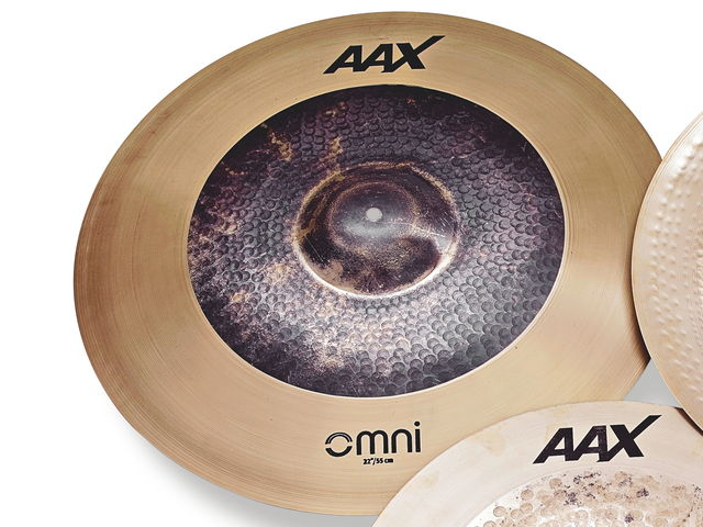 OMNI cymbals are designed to achieve the perfect fusion of crash and ride.