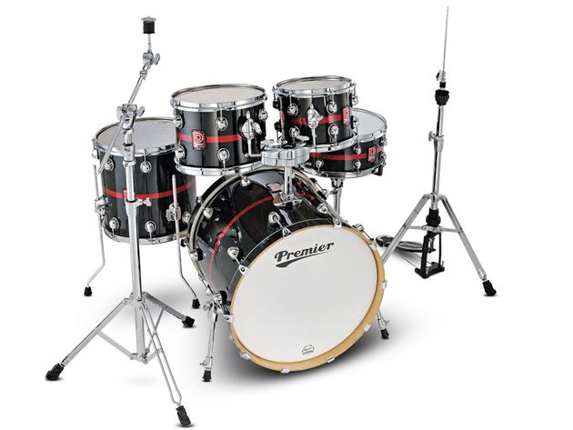 Premier Genista Maple and Genista Birch drum kits