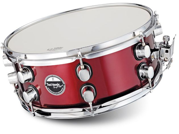 The snare is probably this Techtonic kit's strongest point.