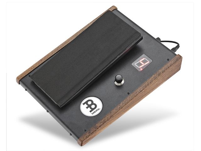 A wah-style pedal acts as a trigger for the sounds.