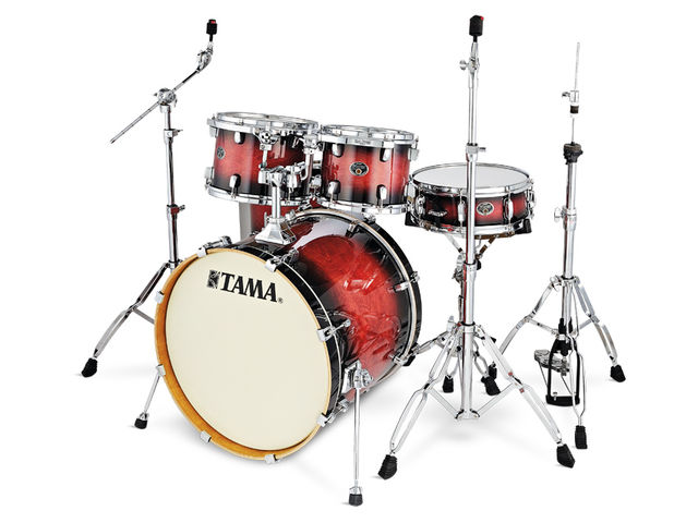Tama Silverstar drum kit (£800)