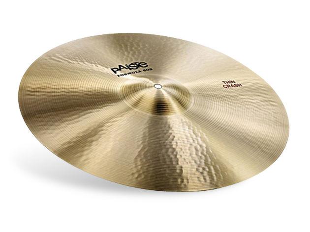 Paiste Formula 602 cymbals.