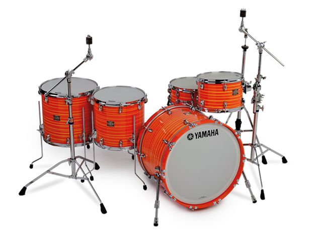 The swirl orange finish involves a new hand-painting and lacquering process.