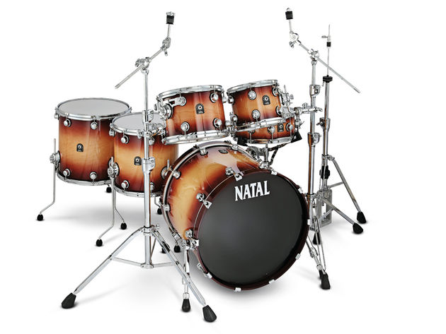Natal Maple and Bubinga drum kits